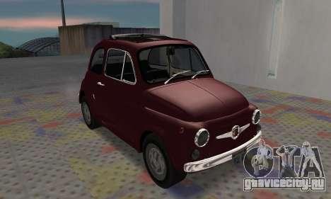 Fiat Abarth 595 SS 1968 для GTA San Andreas вид слева