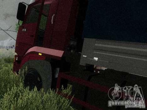 КамАЗ 65117 для GTA San Andreas вид справа