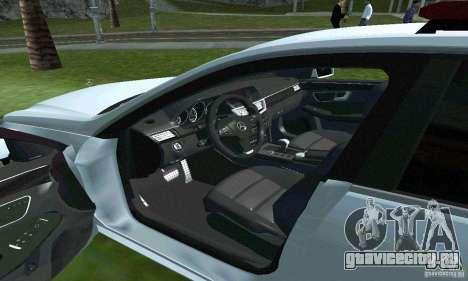 Mercedes-Benz E63 ДПС для GTA San Andreas вид сбоку