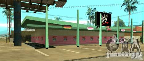 Новый магазин WWE для GTA San Andreas второй скриншот