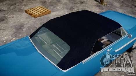 Dodge Dart 440 1962 для GTA 4 вид снизу
