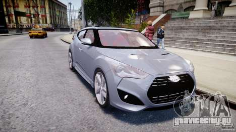 Hyundai Veloster Turbo 2012 для GTA 4
