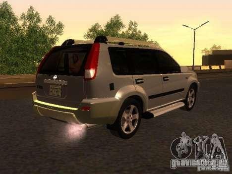 Nissan X-Trail для GTA San Andreas вид сзади слева