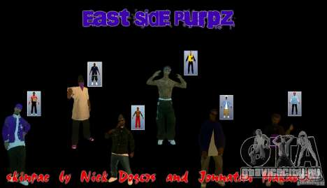 East side purpz для GTA San Andreas