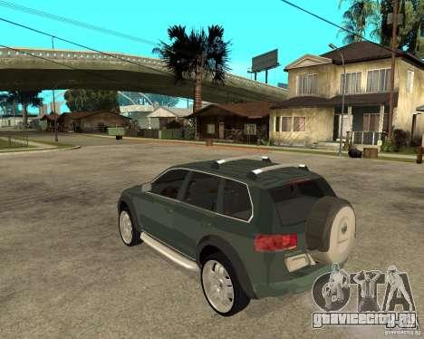 Volkswagen Touareg V10TDI 4x4 для GTA San Andreas вид слева