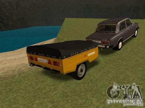 МАЗ 8114 Зубренок для GTA San Andreas вид сзади слева