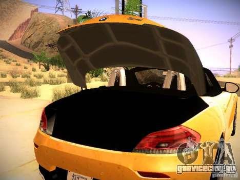 BMW Z4 sDrive28i 2012 для GTA San Andreas вид сбоку