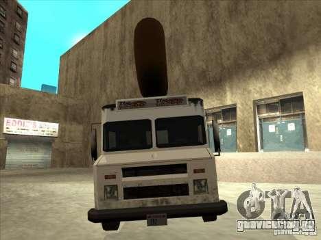 Donut Van для GTA San Andreas вид справа