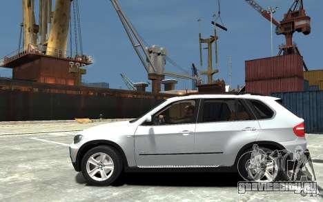 BMW X5 2009 для GTA 4 вид слева