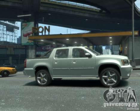 Chevrolet Avalanche Version Pack 1.0 для GTA 4 вид справа