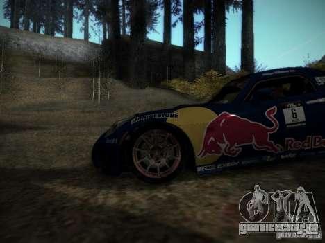 Pontiac Solstice Redbull Drift v2 для GTA San Andreas вид сзади