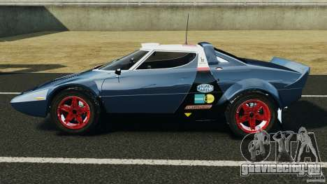 Lancia Stratos v1.1 для GTA 4 вид слева