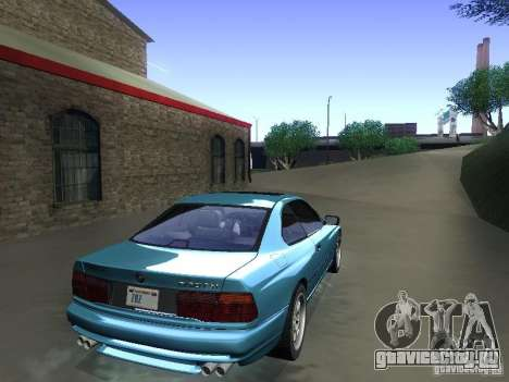 BMW 850CSi 1995 для GTA San Andreas вид слева