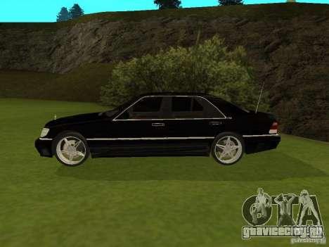 Mercedes-Benz 600 W140 для GTA San Andreas вид слева