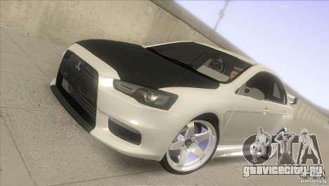 Mitsubishi Lancer Evo IX DIM для GTA San Andreas
