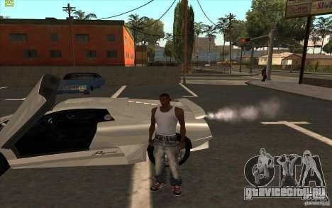 Infernus из GTA 4 для GTA San Andreas вид справа