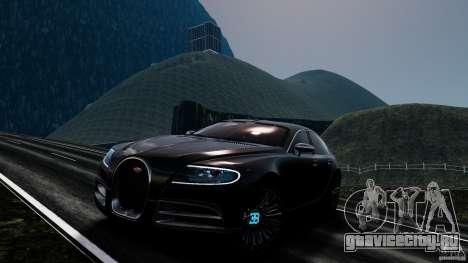 Bugatti Galibier 2009 для GTA 4 колёса
