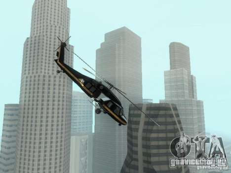 Enterable Annihilator из GTA 4 для GTA San Andreas вид слева
