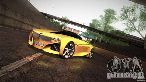 BMW Vision Connected Drive Concept для GTA San Andreas вид слева