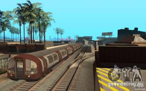 London Metro для GTA San Andreas вид слева