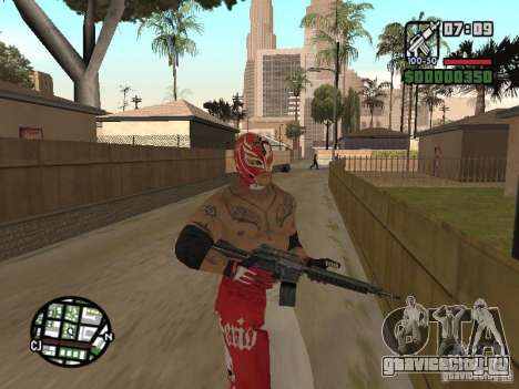Рей Мистерио для GTA San Andreas пятый скриншот