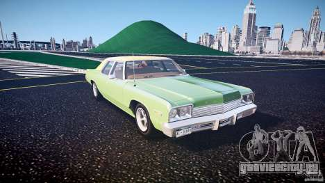 Dodge Monaco 1974 american racing torq thrust rims для GTA 4