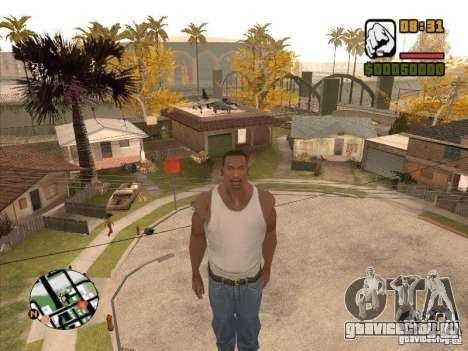 FLY men - CJ будет круче супермена для GTA San Andreas третий скриншот