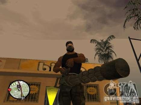 Миниган М134 из CoD:Mw2 для GTA San Andreas третий скриншот