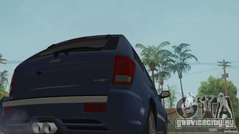 Jeep Grand Cherokee SRT8 2009 для GTA San Andreas вид справа