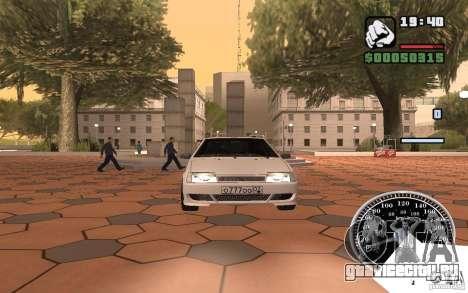 ВАЗ 2109 Light Tuning для GTA San Andreas вид слева