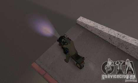 Пурпурный цвет фар для GTA San Andreas третий скриншот