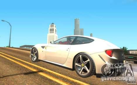 Ferrari FF для GTA San Andreas вид слева