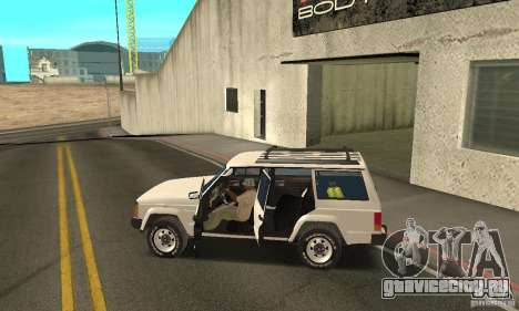 Jeep Grand Cherokee 1986 для GTA San Andreas двигатель