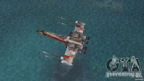 X-Wing Skimmer для GTA Vice City вид справа