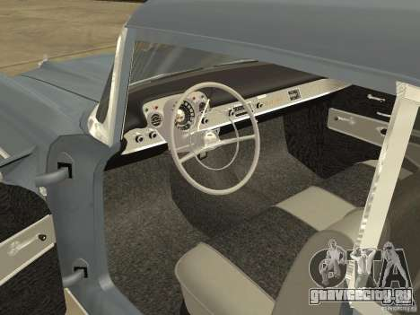Chevrolet Bel Air 1957 для GTA San Andreas вид справа