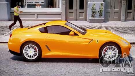 Ferrari 599 GTB Fiorano для GTA 4 вид снизу