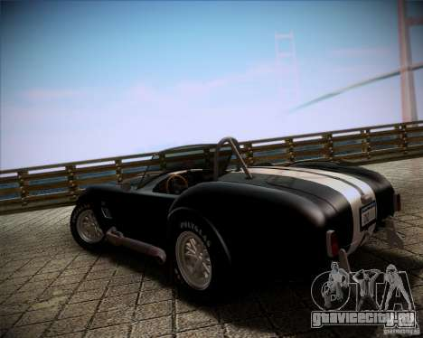 Shelby Cobra 427 Full Tunable для GTA San Andreas вид слева