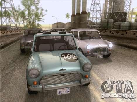 Austin Cooper S 1965 для GTA San Andreas