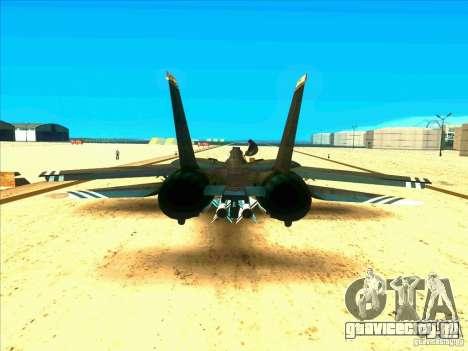 F-14 Tomcat Schnee для GTA San Andreas вид справа
