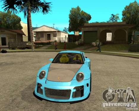 Porsche 911 Turbo Grip Tuning для GTA San Andreas вид сзади
