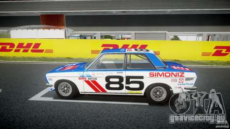 Datsun Bluebird 510 1971 BRE для GTA 4 вид слева