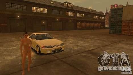 Nissan Skyline R32 для GTA 4 вид сбоку