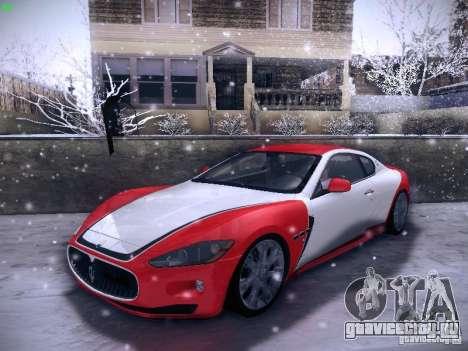 Maserati Gran Turismo S 2011 V2 для GTA San Andreas вид снизу