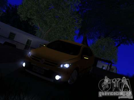 Volkswagen Gol Rallye 2012 для GTA San Andreas вид сзади