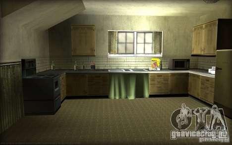 Новые текстуры для дома Джонсонов для GTA San Andreas