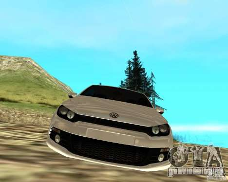VW Scirocco III Custom Edition для GTA San Andreas вид справа