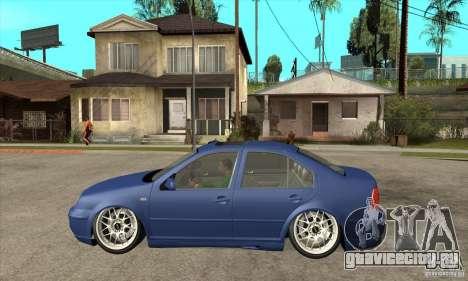 VW Bora VR6 Street Style для GTA San Andreas вид слева