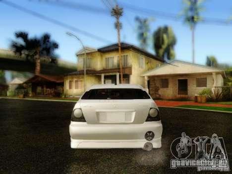 Lexus IS300 Jap style для GTA San Andreas вид сзади