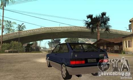 VW Gol GTI 1989 для GTA San Andreas вид сзади слева