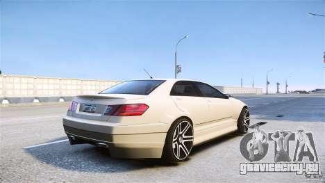 Schafter2 Sedan для GTA 4 вид слева